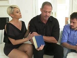 Wonderful Helena Locke Cheats On Her Bf While Fucking Rear End In Front Of Him