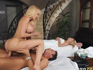 Oiled And Raw Puss Of Brandi Love Is Everything Her Masseuse Wants To Touch