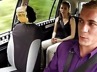 Amazing Orgy In Cab Cab