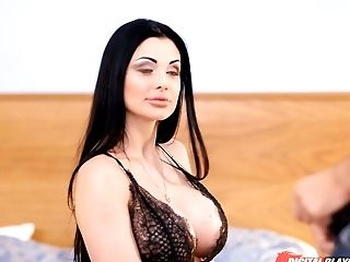 Divine Huge-chested Cougar Aletta Ocean Gets Her Juciy Twat Poked Well