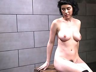 Buxom Olive Glass Plays With A Wand And Gets Fucked By A Machine