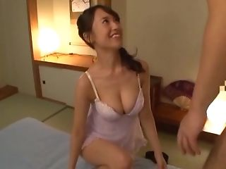 Awesome Nagase Asami Lets A Horny Boy Spunk On Her Pretty Face