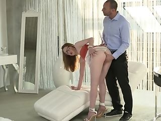 Well Built Fit Dark-haired Emma Fantasy Gets Jizm In Her Eyes