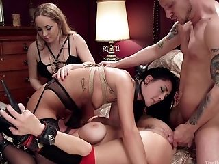 Torment And Restraint Bondage Are The Secret Fantasies Of Tied Veronica Avluv