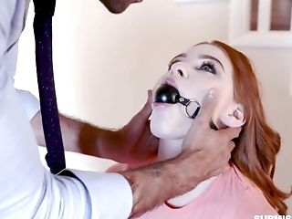 Servant Ginger Honey On A Leash Scarlett Snow Does Everything Her Man Desires