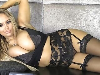 Very Hot Light-haired Stunner Danni Levy Talks Dirty  - Hq