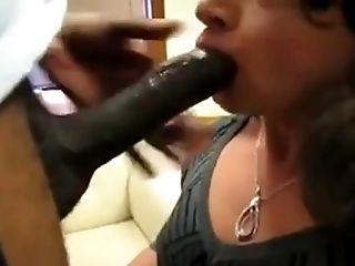 Crossdresser big black cock