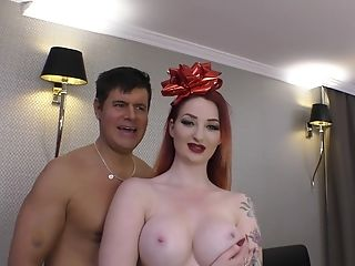 Pallid Tattooed Red-haired Zara Durose Has Her Hairy Snatch Pounded Hard-core