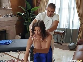 Man Uses His Energized Dong To Ruin This Cougar's Smoothly-shaven Cunt