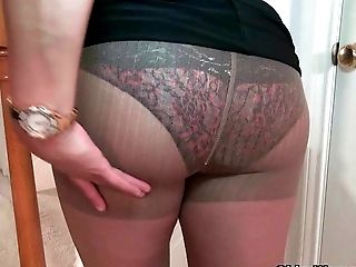 Chesty Cougar Mia Jones Strips Off And Fucks A Fuck Stick