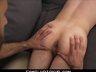 Skinny Youngster Step Son-in-law Fucked By Step Dad After Rubdown