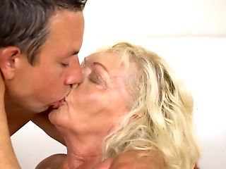 Paramour Of Old Women Knows How To Fuck Blonde And Make Her Glad