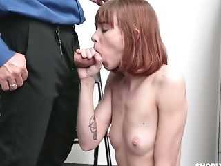 Yummy Ginger Nubile Alexa Nova Gets Her Honeypot And Pucker Penalized For Shoplifting