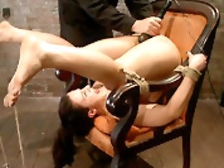Pain Freak, Demolished With Pleasure.massive Orgasm Overcharge Totally Implodes This Whore's Brain.  - Hog Tied