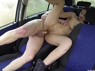 Bitch Shagged Hard In The Car