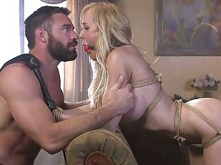 Taunted With Some Hookup Fucktoys Tied Up Hoe Brandi Love Is Fucked Rear End Rough
