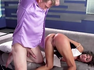 Peta Jensen Is Longing For Some Rough Fucking In Her Office
