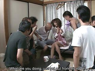 Adorable Looking Japanese Girlie Juri Kitahara Is So Into Sucking Some Boners